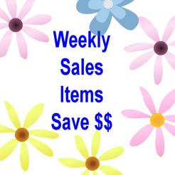 Weekly Sales Items