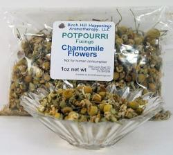 Chamomile flowers for potpourri