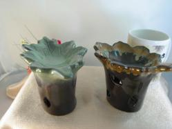 Leaves Tealight Diffusers