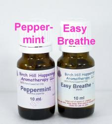 Peppermint and Easy Breathe Blend