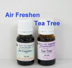 Air Freshen Blend and Tea Tree essentia oils