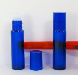 Cobalt True Blue Glass 1/3oz Rollon