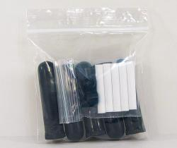 Plastic Nasal Inhalers - Black 5 pack