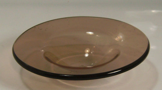 4 1 2 Inch Replacement Glass Bowl Brown
