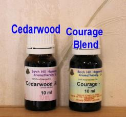 Cedarwood & Courage Blend