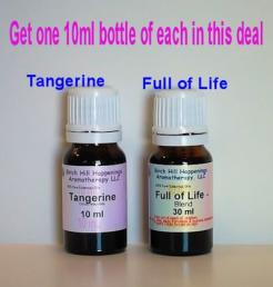 Tangerine 10 & Full of Life 10ml