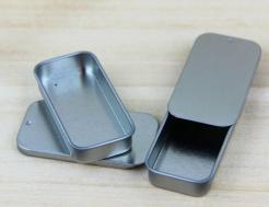 Small Metal Slide Top tin