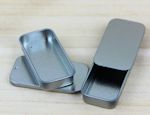 Small Metal Slide Top tin