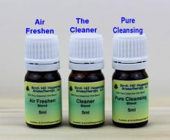 Air Freshen, The Cleaner & Pure Cleansing Blends 5mls