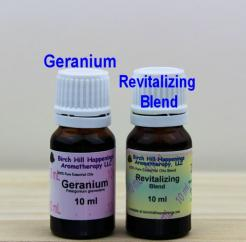 Geranium & Revitalizing Blend