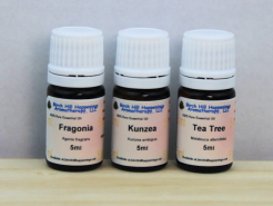 Kunzea, Fragonia & Tea Tree oil