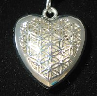 Pewter Heart Locket