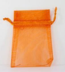 Orange Organza