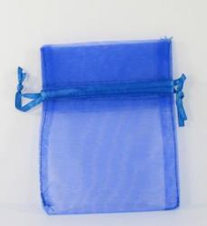 Blue Organza