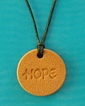 Hope Terra Cotta Necklace
