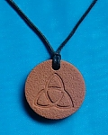 Celtic Triquetra Symbol Necklace