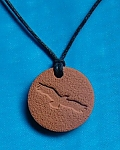 Eagle Terra Cotta Pendant