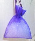 Aroma Beads in Lavender Organza bag